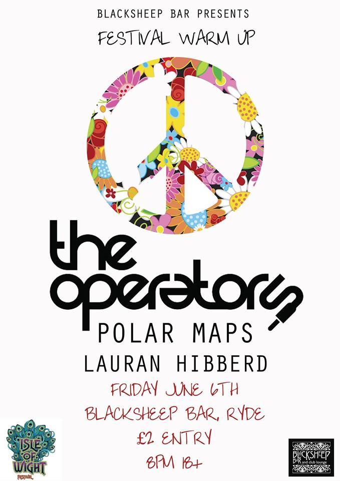 The Check In / Where's Jasper? - The Operators, Polar Maps, Lauran Hibberd & Jonny Michael