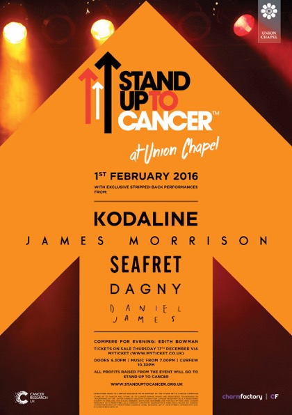 Pick 'n' Mix - Stand Up To Cancer at Union Chapel